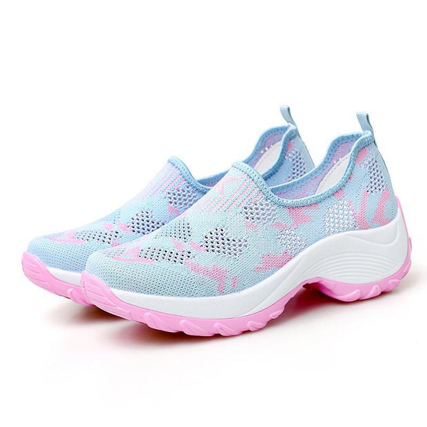 Women's Breathable Anti-skid  Paint Sneakers