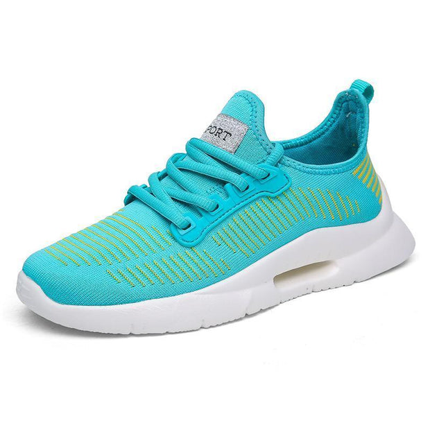 Women's Casual Fly Woven Breathable Running Shoes
