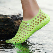 Women's Hole Shoes Breathable Couple Shoes Beach Bird Nest Foot Wading Shoes