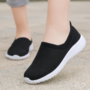 Women Old man walking shoes sneakers lightweight breathable lazy soft bottom slip mesh shoes 120751