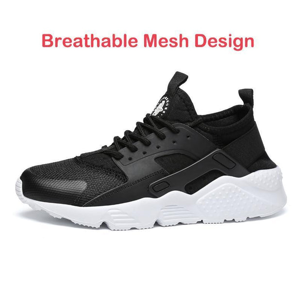 Women's Bright Color Mesh Sneakers Breathable Running Shoes