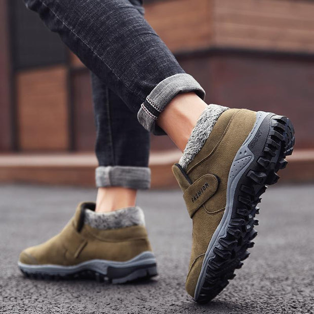 Man's Fashion  Warm Suede Casual Short Shoes 121589