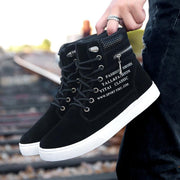 New Men's Shoes Plus Size High to Help Fashion Casual Shoes