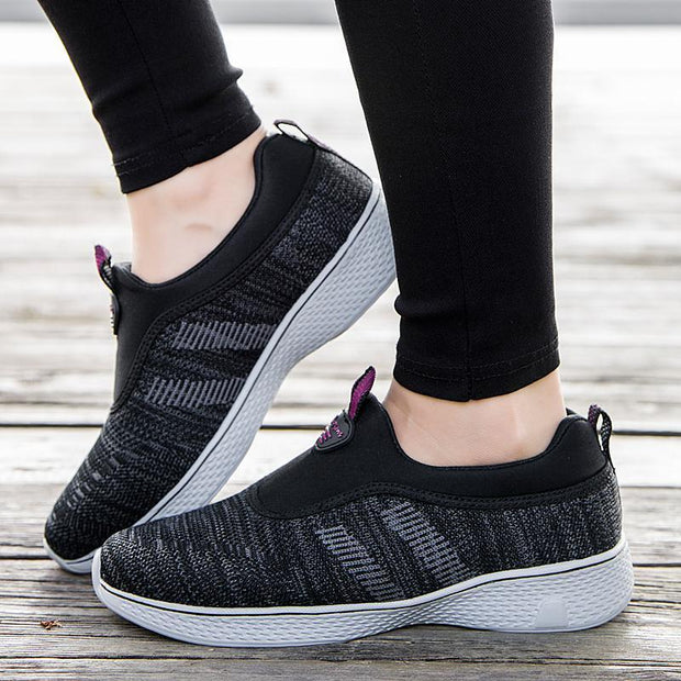 Women's New women's shoes casual shoes breathable flat women 121404