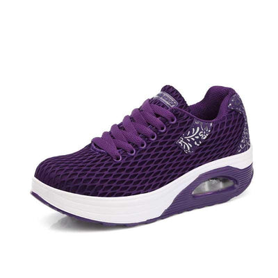 Women's Lace-up Breathable Mesh Rocking Sneakers(Second -30% by code:BTS30)