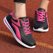 Women's Mesh Splice Running Sneakers