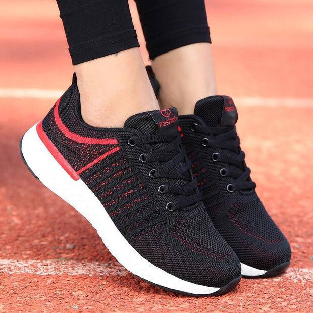 Women's New Woven Mesh Light Running Sneakers
