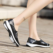 Women's Round-toe Hollow-out Sneakers Loafers