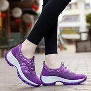Women's Thick Bottom Cloth Mesh Sneakers