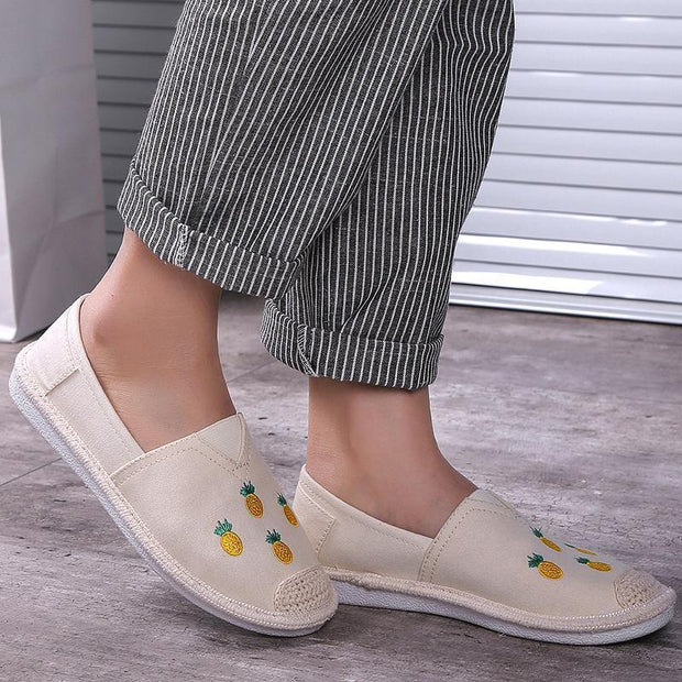 Women's Hemp Rope Cavans Loafers