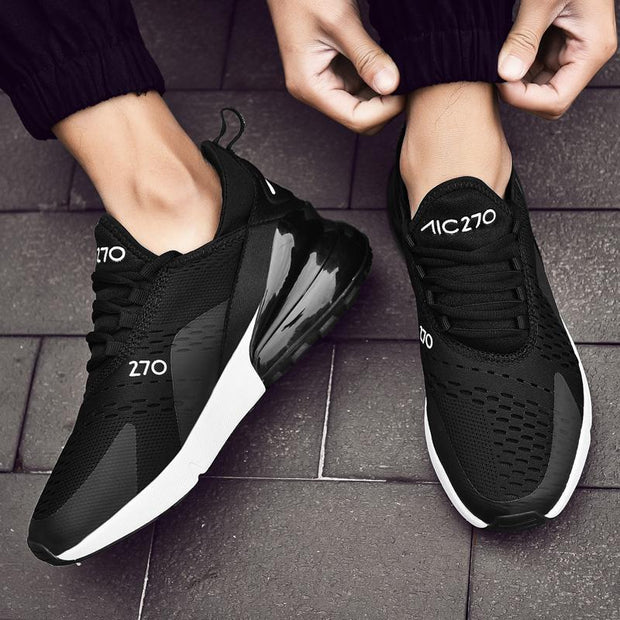 Fashion Men's Air Cushion Shockproof Sports Shoes Comfortable Lightweight Lovers Casual Shoes 122209