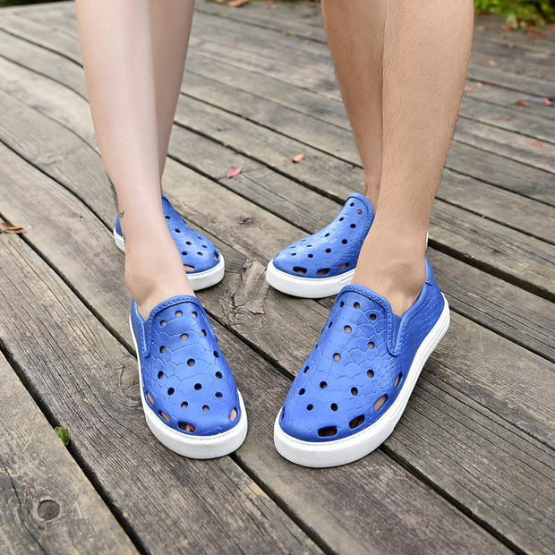 Women Lightweight Breathable Hole Shoes