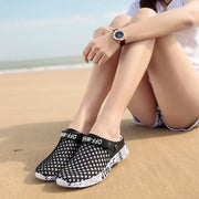 Men Non-slip Wading Shoes Casual Breathable Slippers