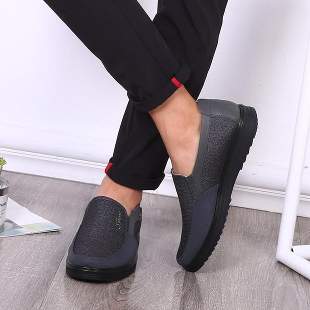 Men's Fashion Style Comfortable Flat Slip On Shoes
