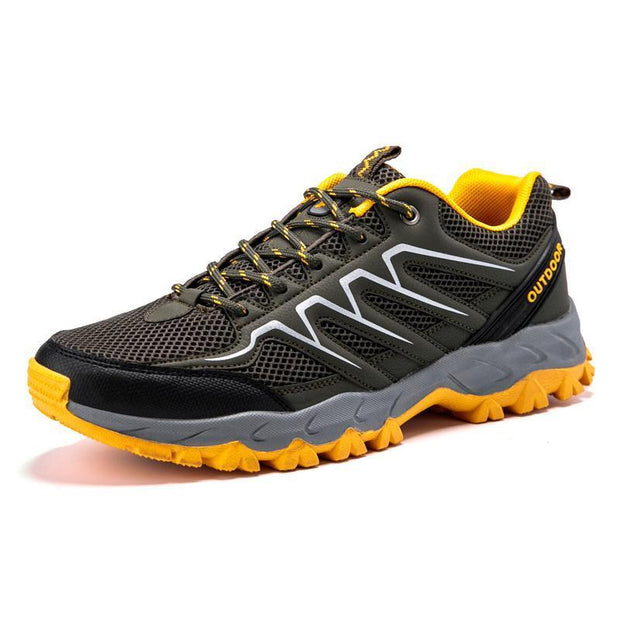 Men's Non-slip Breathable Mesh Hiking Sneakers