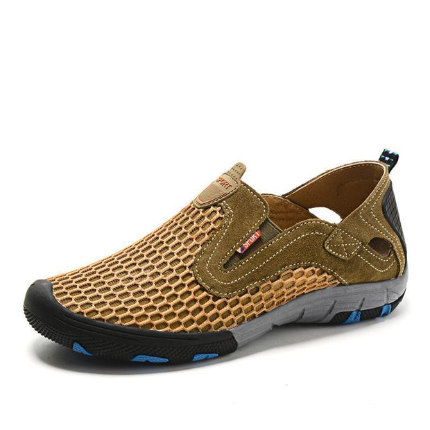 Men's Breathable Mesh Outdoor Leisure Sandals Flats