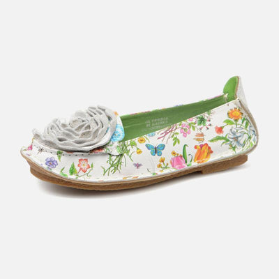 LAURA VITA Audrey Retro Genuine Leather Handmade Painted Original Comfortable