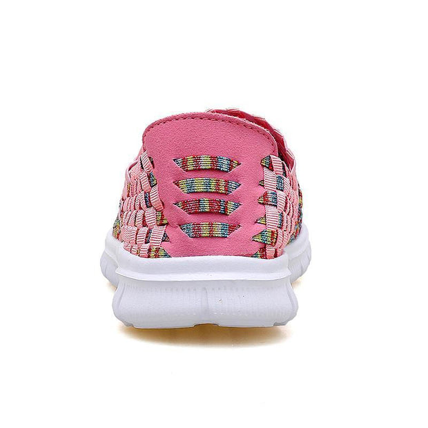 Women's Sandals Woven Shoes Trend Casual Shoes Breathable Sneakers