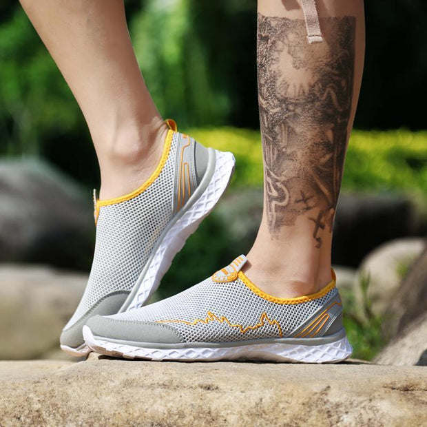 Men's Net Shoes Breathable Casual Outdoor Shoes Sport