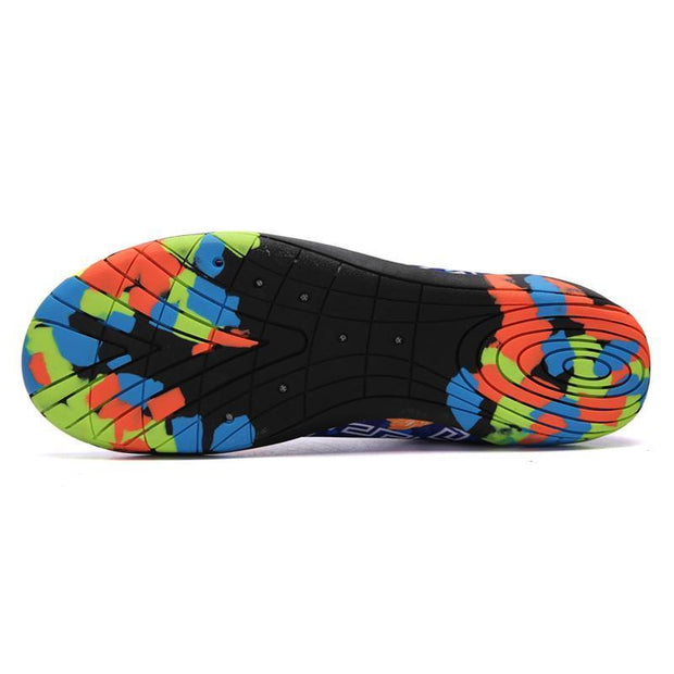 Men's Light Casual Breathable Anti-skid Beach Barefoot Shoes