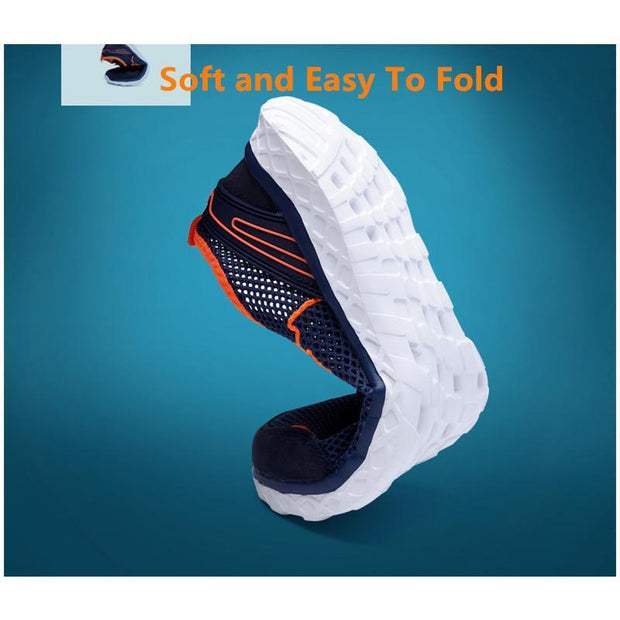 Men Large Size Breathable Mesh Sneaker Shoes
