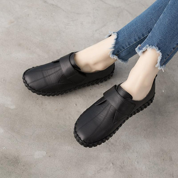 Women Hand-Sewn Soft Soles Single Shoes Comfortable Casual Shoes