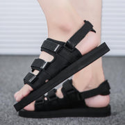 Men's Lightweight Comfortable Sandals Wear Resistant Non-Slip Flat Shoes Lovers Slippers