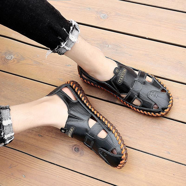 Men's Outdoor Soft Bottom Casual Slip Sandals