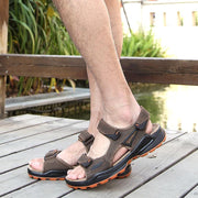 Men's shoes outdoor soft bottom casual sandals 123657