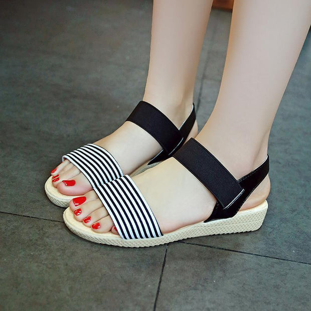 Women's Fashion Sandals Non-slip Wedge Shoes Outdoor Beach Shoes 123567