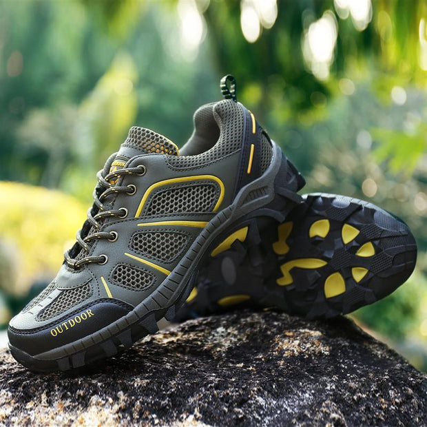 Men's youth trend hiking shoes outdoor shoes flexible and wearable