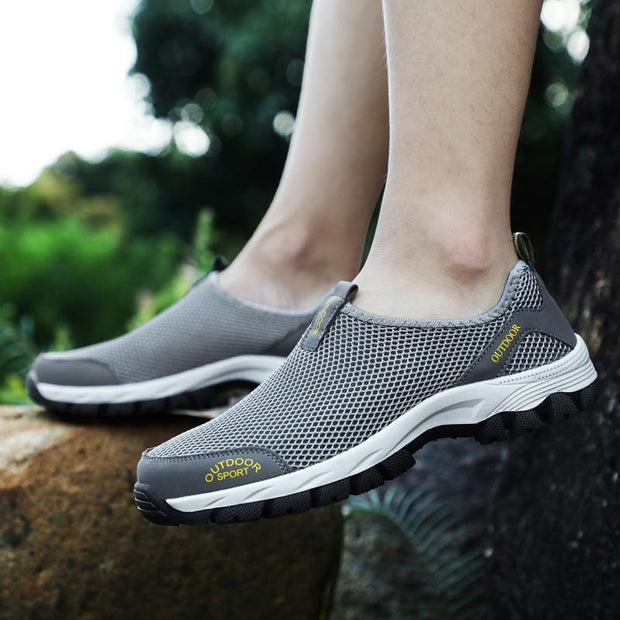Men's Outdoor Hiking Light Comfortable Mesh Sneakers