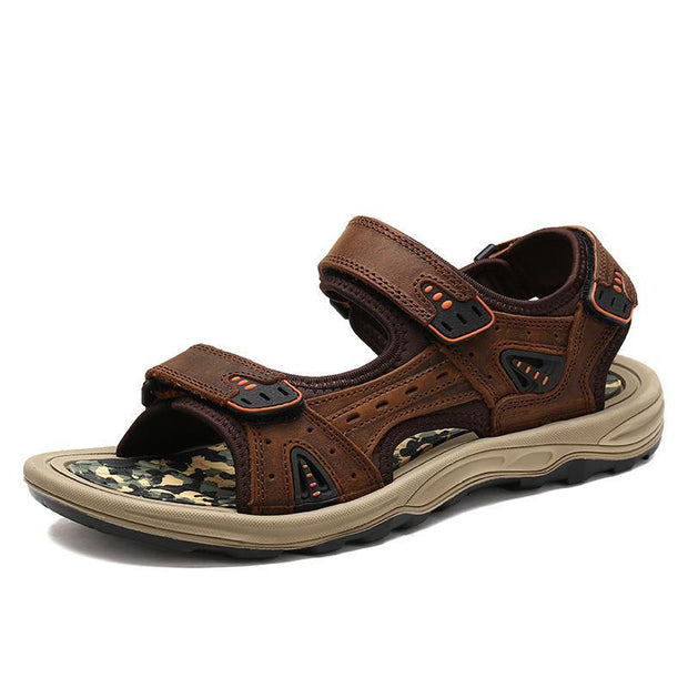 Men's casual fashion trend outdoor air cushion bottom beach sandals 125067