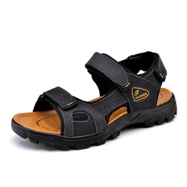 Men's casual trend outdoor beach flat sandals 126006