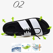 Women's Casual Beach Breathable Slipper Sandals Summer Home Flat Flip Flops Shoes 124008