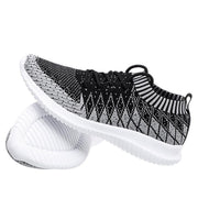 Men's ultra light flying woven socks coconut sports casual tide shoes running shoes 123795