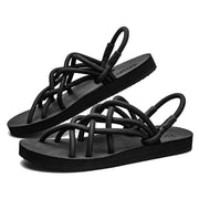Ladies summer beach woven sandals 123793