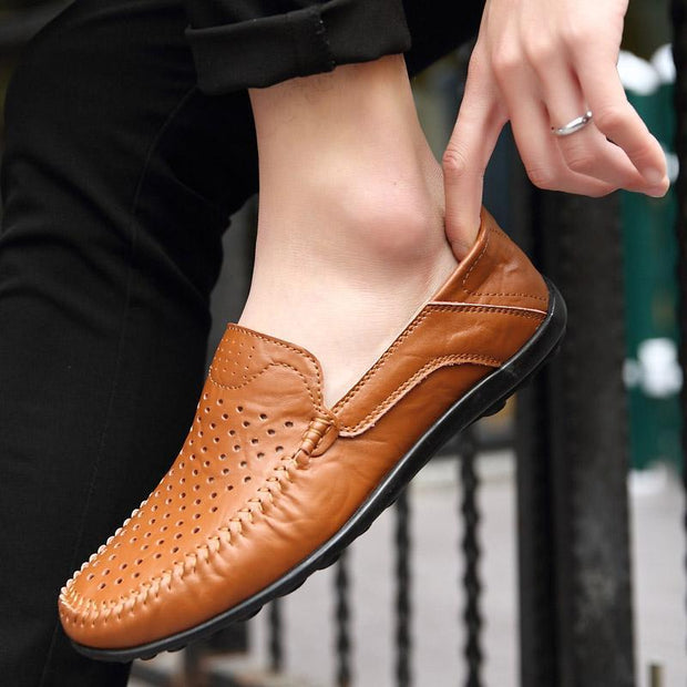 Men's Shoes Hollowed Out Peas Shoes Casual Shoes 123933