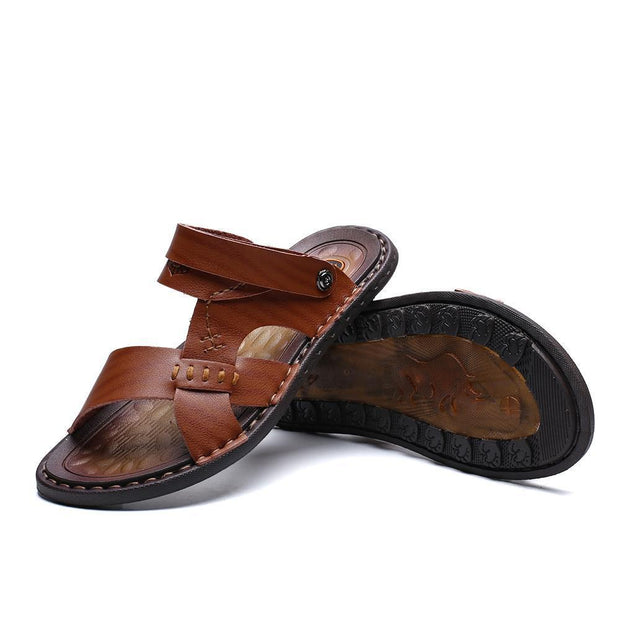 Men's casual sandals, slippers 124602