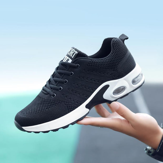 Women Breathable Sneakers Shoes Adult Comfortable Soft Mesh Shoes