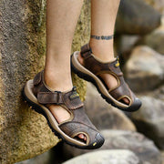 Men's casual trend outdoor buckle flat sandals sandals 125321