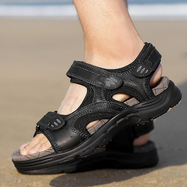 Men's casual trend outdoor flat with breathable beach sandals 125588