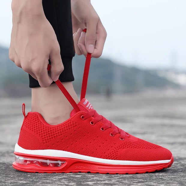 Ladies casual shoes sports fashion air cushion shoes running shoes slow running shoes 126044