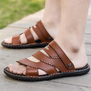 Men's casual trend flat with buckle beach sandals 126479