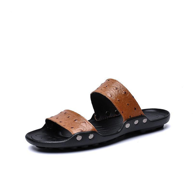 Men's fashion casual summer slippers 127906