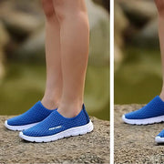 Women's breathable casual sports shoes fashion lightweight athletic tennis running shoes 127890