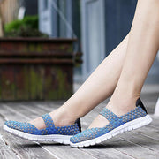 Women Flats Shoes Casual  Sneakers Breathable Shoes Moccasins 127147