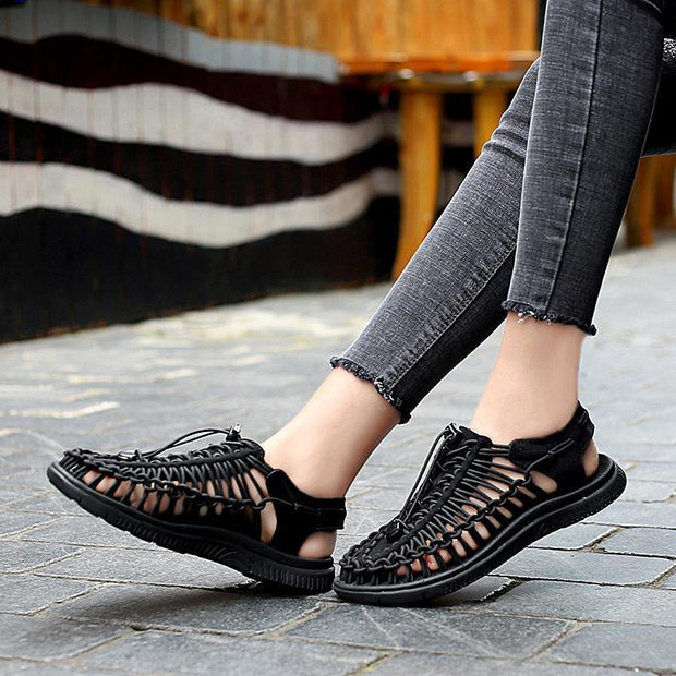 Women's Flat Round-Toe Soft Sandals