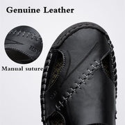 Men Sandals Casual Genuine Leather Classic Roman Sandal Men Roman Summer Outdoor Beach shoe 127152