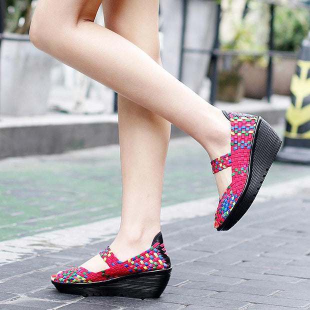 Wedges Shoes Women High Heels Sandals Summer Shoes Platform Sandals 127086